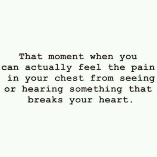 Despair hit my innersoul